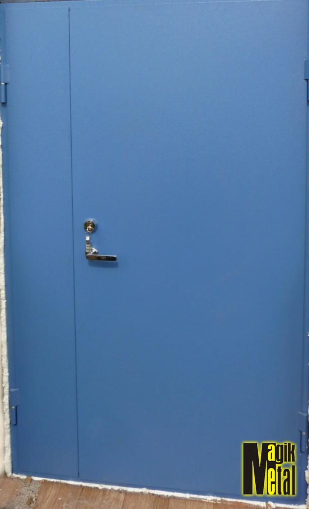 Durvis ar pulverkrāsu