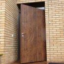 Наружная дверь с отделкой влагостойким МДФ