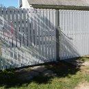 №31 - ворота из досочек ПВХ